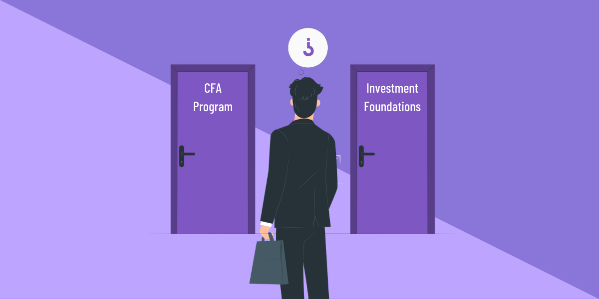 cfa investment foundations vs cfa