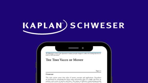 Kaplan Schweser CAIA ebook