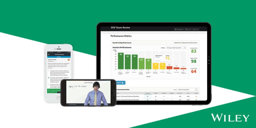 Wiley CFA Online Platform and Mobile App