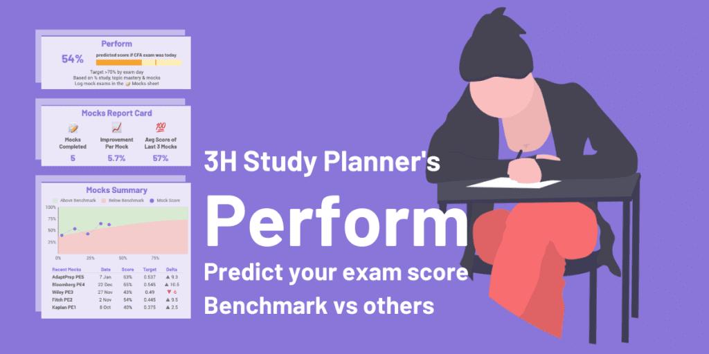 CFA Study Plan: Perform and predict your exam score
