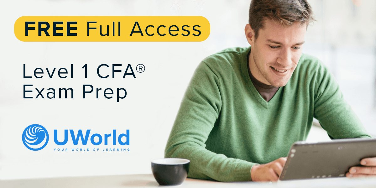 UWorld CFA Provider Free Offer