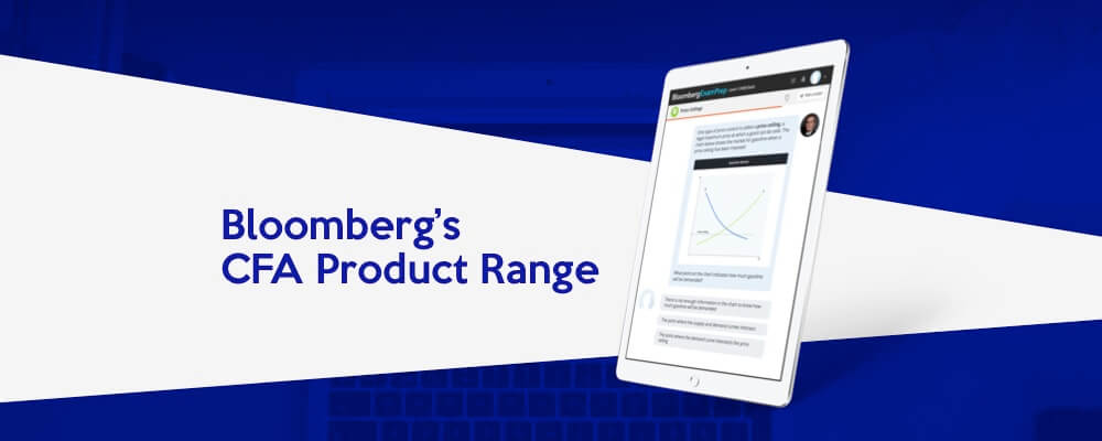 CFA Provider Review: Bloomberg Exam Prep Product Range