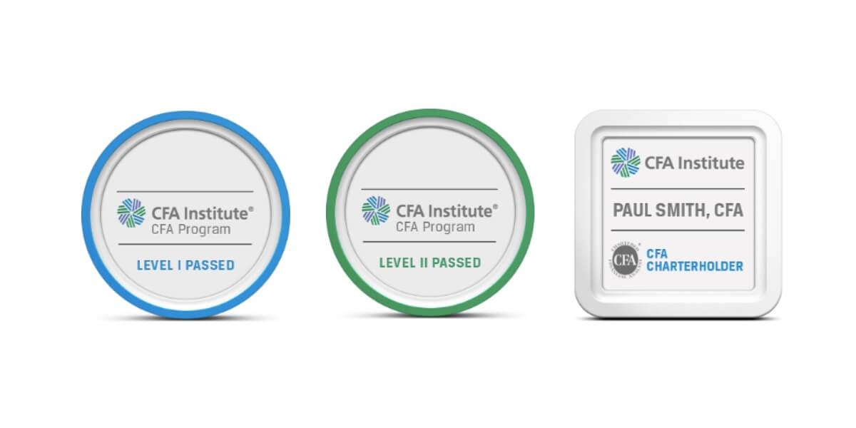 CFA Institute Digital Badges Basno