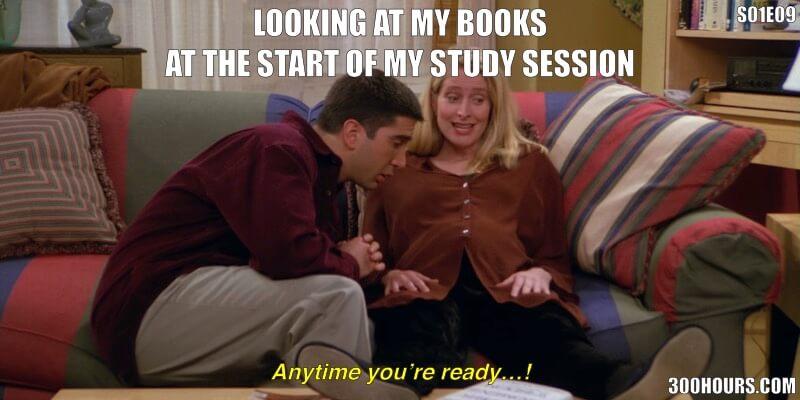CFA Friends Meme: Starting CFA Exam Study