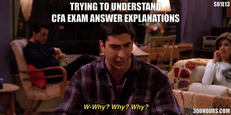 CFA Meme: Understanding CFA Exam Answers