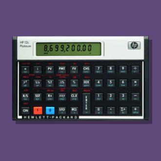hp12c platinum calculator