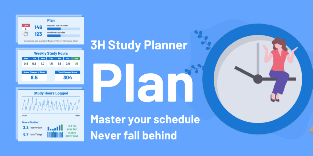Customize Your Free CFA Study Planner 2