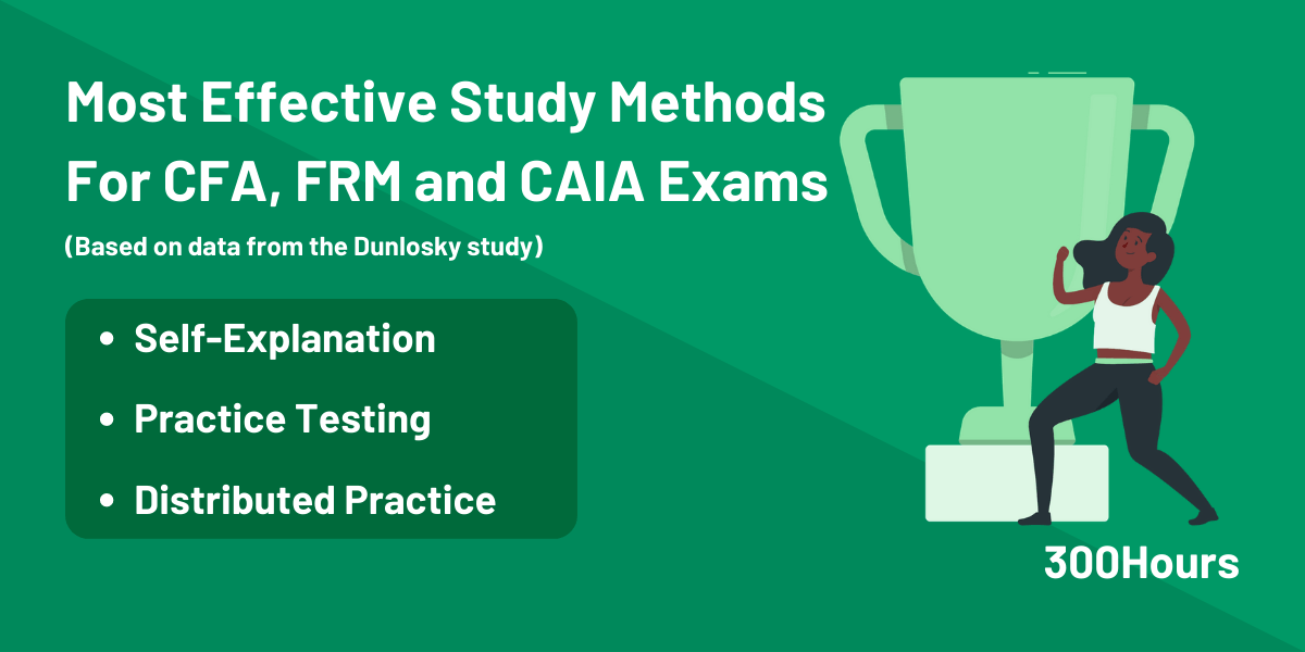 Most Effective Study Methods for CFA, FRM and CAIA Exams