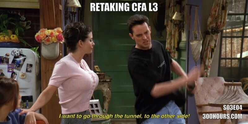 CFA Friends Meme: Passing CFA Level 3