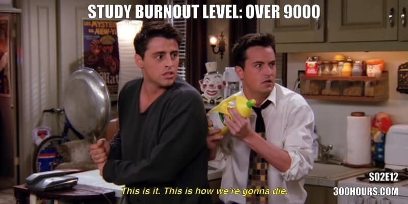 CFA Friends Memes: Burnout