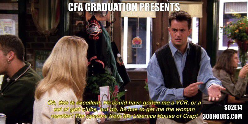 CFA® Exam Meme Challenge: Every Friends Episode in Season 2 3