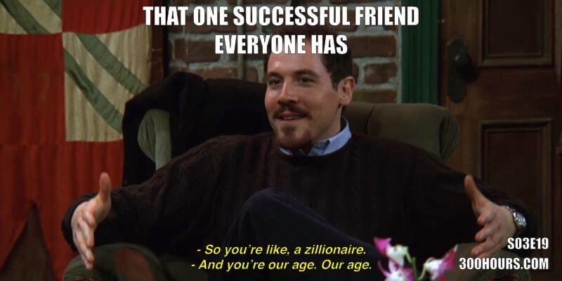 CFA Friends Meme: That successful friend that everyone has
