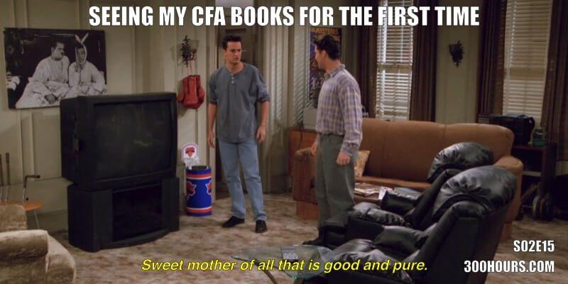 CFA Friends Memes: New CFA Books