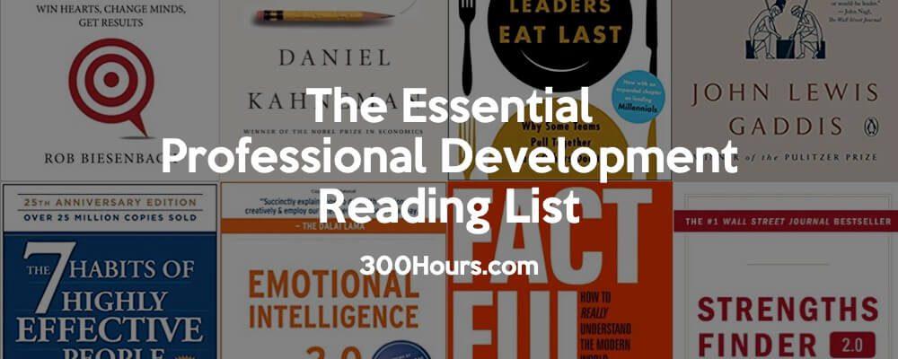 The Essential Professional Development Reading List 5