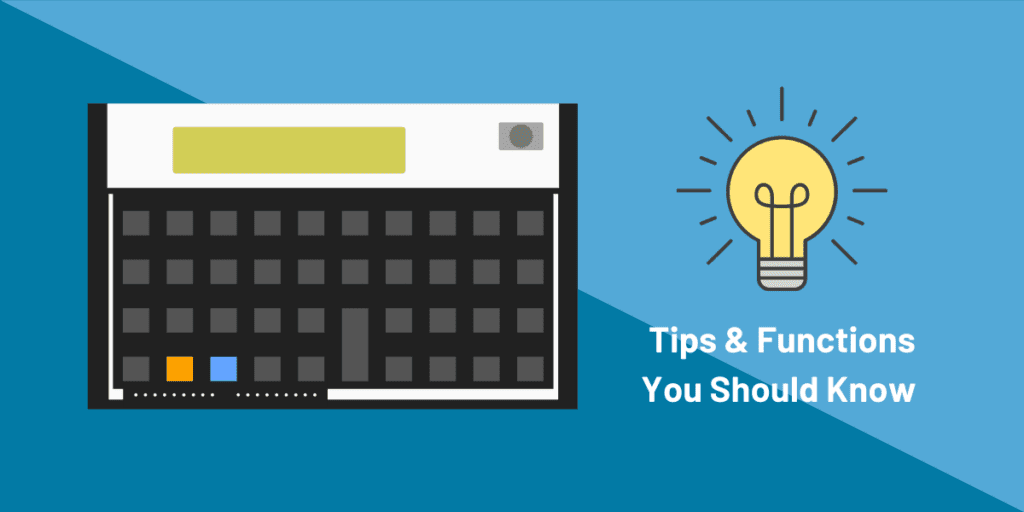 how to use hp12c calculator