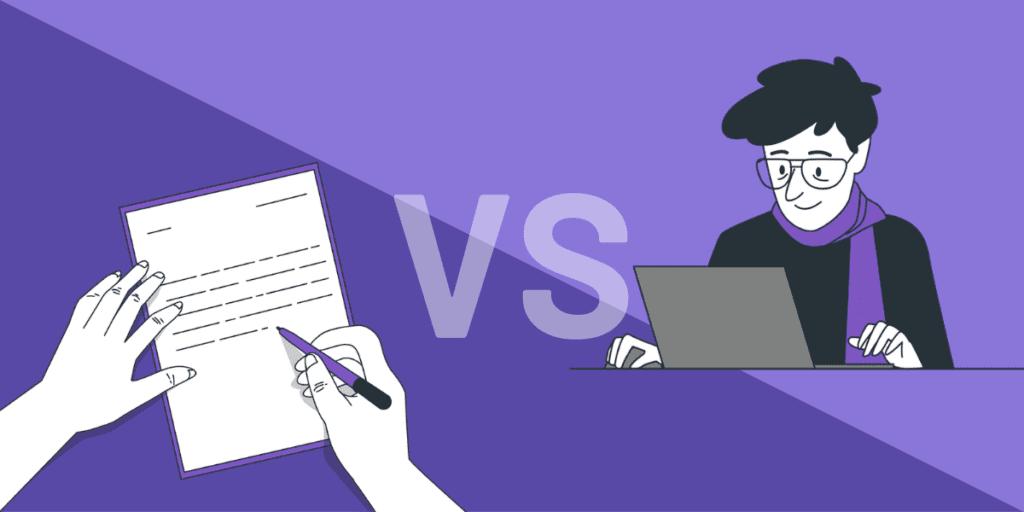 cfa computer based testing vs paper based testing